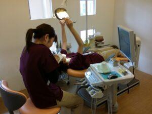 歯科医院のユニットのセルフチェック